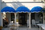 Hoover Canvas Bullnose Awning Palm Beach Florida