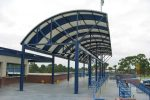 Hoover Canvas Convex Stadium Awning Port Saint Lucie Florida (1)