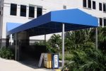 Hoover Canvas Gable Entrance Awning West Palm Beach Florida (1)