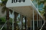 Hoover Canvas Half Round Entrance Walkway Awning Fort Lauderdale Florida (1)