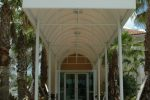 Hoover Canvas Half Round Entrance Walkway Awning Fort Lauderdale Florida (2)