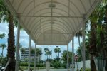 Hoover Canvas Half Round Entrance Walkway Awning Fort Lauderdale Florida (3)