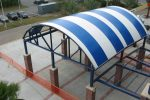 Hoover Canvas Half Round Stadium Awnings Stuart Florida (1)