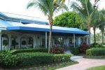 Hoover Canvas Hip Gable Restauraunt Patio Awning Boca Raton Florida (1)