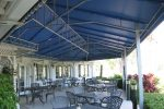 Hoover Canvas Hip Gable Restauraunt Patio Awning Boca Raton Florida (2)
