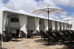 Hoover Canvas Poolside Pyramid Cabana Awnings Miami Beach Florida (1)