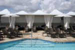 Hoover Canvas Poolside Pyramid Cabana Awnings Miami Beach Florida (2)