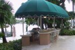 Hoover Canvas Half Round Bullnose Awning Fort Lauderdale Florida (1)