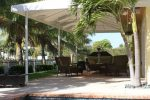Hoover Canvas Hip Gable Patio Awning Boca Raton Florida