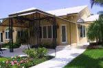 Hoover Canvas Pyramid Awning Miami Florida 1