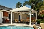 Hoover Canvas Pyramid Pool Cabana Awning Fort Lauderdale Florida