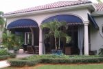 Hoover Canvas Sunbrella Bullnose Awning Fort Lauderdale Florida